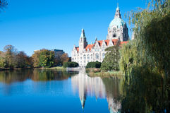 Rathaus, City Hall, Hannover, Germany. Royalty Free Stock Photo