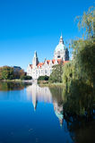 Rathaus, City Hall, Hannover, Germany. Stock Image