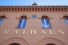 Rathaus city hall in Schwerin Germany Royalty Free Stock Image