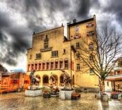 Rathaus (city hall) of Vaduz Stock Photography