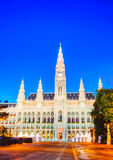 Rathaus (City hall) in Vienna Stock Image