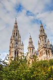 Rathaus (City hall) in Vienna, Austria Royalty Free Stock Images