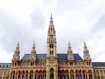 Rathaus city hall in Vienna Austria Stock Photos