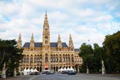 Rathaus (City hall) in Vienna, Austria Stock Photo