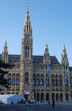 Rathaus (City hall) in Vienna, Austria. Royalty Free Stock Photography
