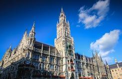 Rathaus de Munich Fotos de Stock