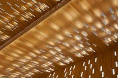 Rathaus-Deckenleuchte Stockbild