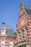 Rathaus in der Mitte von Winschoten lizenzfreie stockfotografie