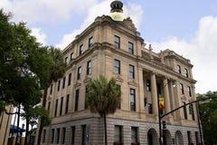 Rathaus in der Savanne in Georgia USA Lizenzfreies Stockfoto