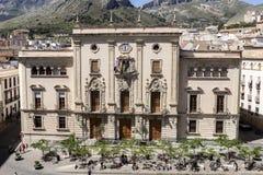 Rathaus der Stadt von Jaen, alias von städtischem Palast Lizenzfreie Stockbilder