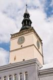 Rathaus in Dzierzoniow Lizenzfreies Stockfoto