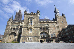 Rathaus em Aix-la-Chapelle, Alemanha Imagem de Stock Royalty Free