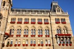 Rathaus em Viena, Áustria foto de stock