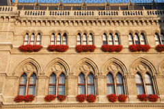 Rathaus em Viena, Áustria fotos de stock