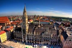 Rathaus en Munich Fotografía de archivo