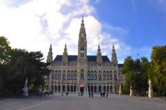 Rathaus en Viena, Austria Imagen de archivo libre de regalías