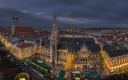 Christmastime in Munich, Bavaria Royalty Free Stock Image