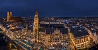 Christmastime in Munich, Bavaria Stock Photo