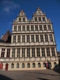 Rathaus (Gent, Belgien) Stockfotografie