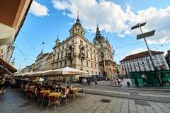 Rathaus Graz Austria Imagen de archivo libre de regalías