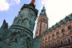 Rathaus, Hamburg, Germany Stock Image