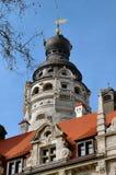 Rathaus-Haube in Leipzig, Deutschland stockfotos