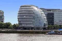 Rathaus, Hauptsitze der London- mit Außenbezirkenberechtigung stockfoto