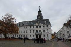 Rathaus i Saarbrucken Royaltyfri Bild