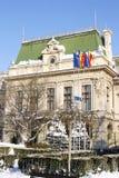 Rathaus in Iasi (Rumänien) Stockbilder