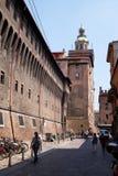 Rathaus im Bologna, Italien Lizenzfreie Stockbilder