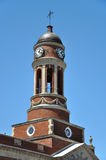 Rathaus im Dorf von Saranac See, New York, USA Lizenzfreie Stockfotos