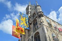 Rathaus im Gouda Lizenzfreie Stockfotos