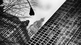 Rathaus, im Stadtzentrum gelegenes Chicago USA Stockbild