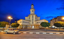 Rathaus in Ivano-Frankivsk Lizenzfreie Stockfotografie