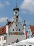 Rathaus, Kempten, Γερμανία Στοκ Εικόνα