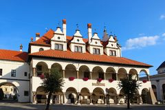 Rathaus, Levoca, Slowakei Lizenzfreies Stockbild
