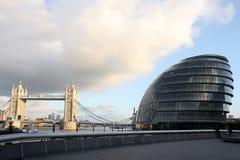 Rathaus London, England Lizenzfreies Stockfoto