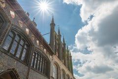 Rathaus in Luebeck, Deutschland lizenzfreies stockbild