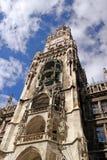 Rathaus in München Stockfotos