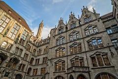 Rathaus in München, Deutschland Stockfotos