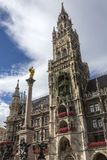 Rathaus - Mariensaule - Munich - Germany Stock Images