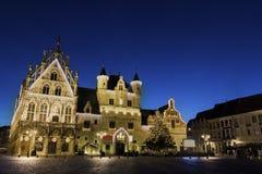 Rathaus in Mechelen in Belgien Stockbilder