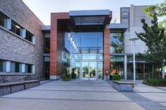 Rathaus in Milton, Kanada stockbilder