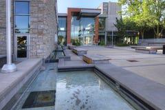 Rathaus in Milton, Ontario lizenzfreie stockfotografie