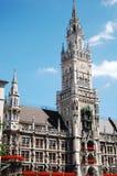 The Rathaus of Monaco of Bavaria Stock Photos