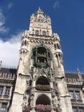 Rathaus in Muenchen, Townhall a Monaco di Baviera Fotografia Stock