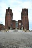 Rathaus Oslo Stockfotografie