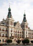 Rathaus in Pardubice Lizenzfreies Stockfoto
