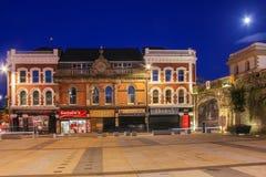 Rathaus-Quadrat Derry Londonderry Nordirland Vereinigtes Königreich lizenzfreie stockbilder