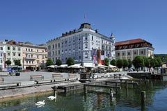 Rathaus-Quadrat im Gmà ¼ nden Lizenzfreies Stockbild